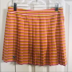 NWOT Lacoste pleated skirt